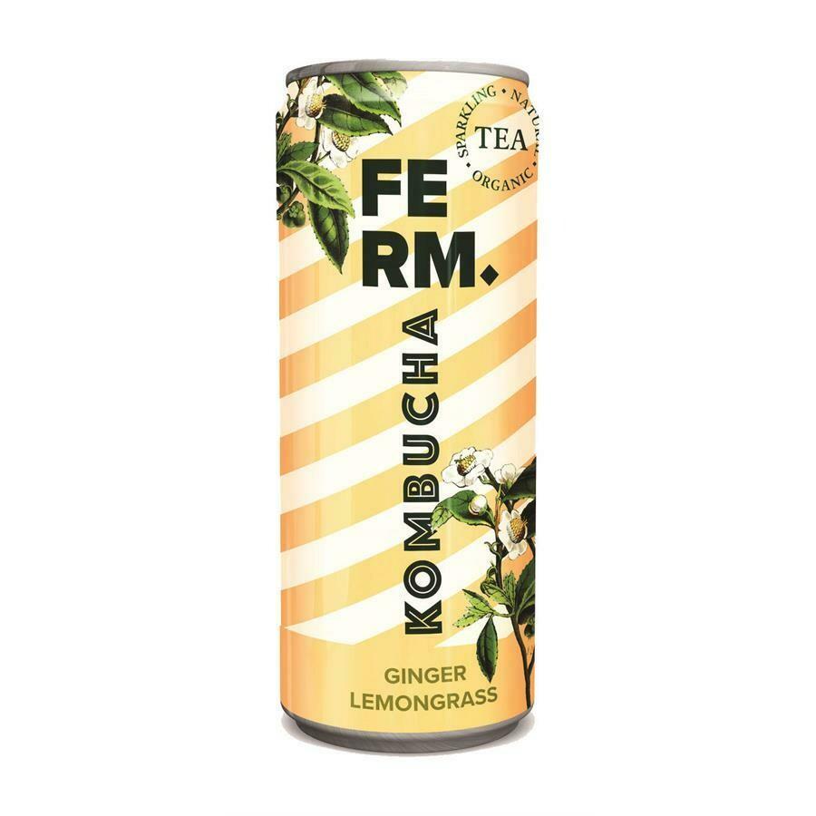 Ferm kombucha gember/citroengras 250ml