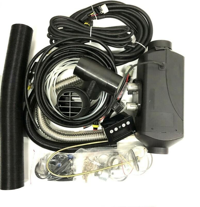 Pyromax PM-5A Diesel Luftvarmer 12 eller 24 Volt