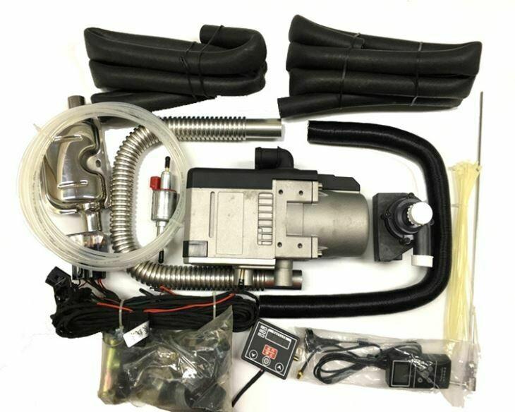 Pyromax PMW-5 Diesel Vannvarmer 12 eller 24  Volt med GSM