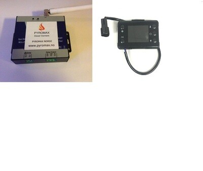 GSM system, komplett med kontroller og GSM Relay