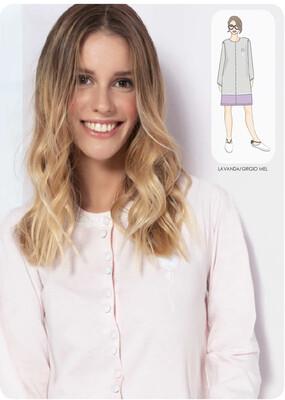 Camicia da notte Primavera/Estate 100 % cotone Milk and Honey promo offerta