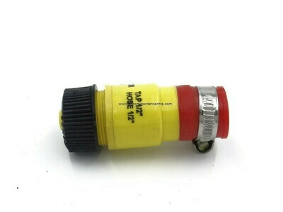 1/2 to 1/2 tap to hose connector