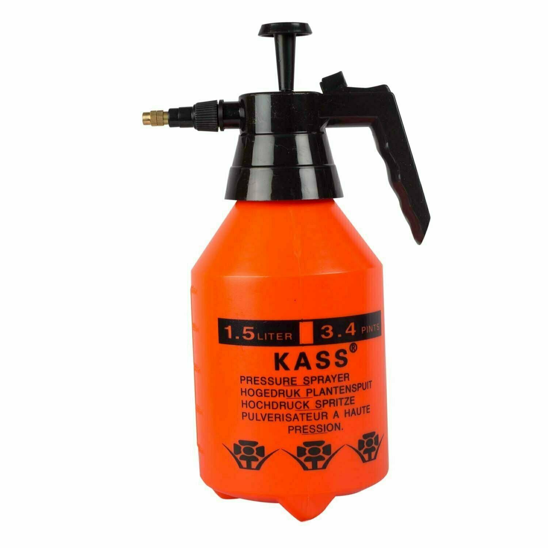 Kass 1.5 litre pressure hand sprayer