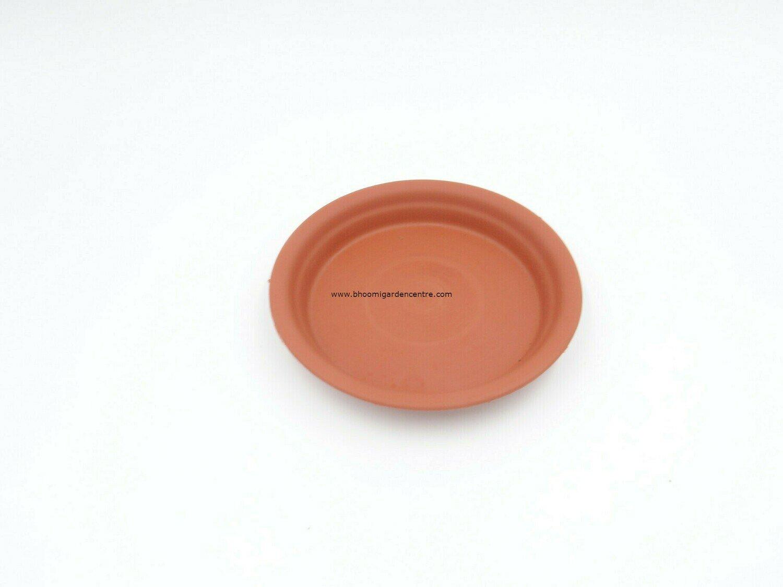 Regular Terracota plastic plate ( 6 inch )