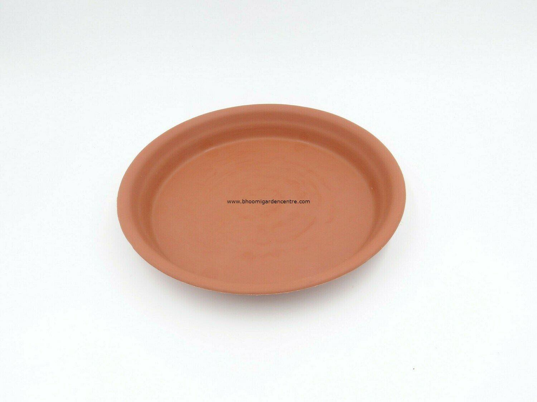 Regular Terracotta plastic plate ( 10 inch )