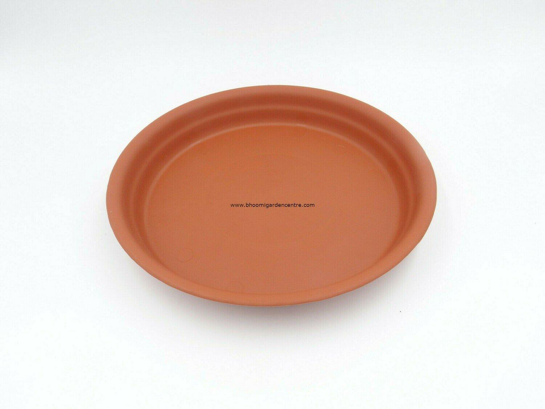 Regular Terracotta plastic plate  ( 16 inch )