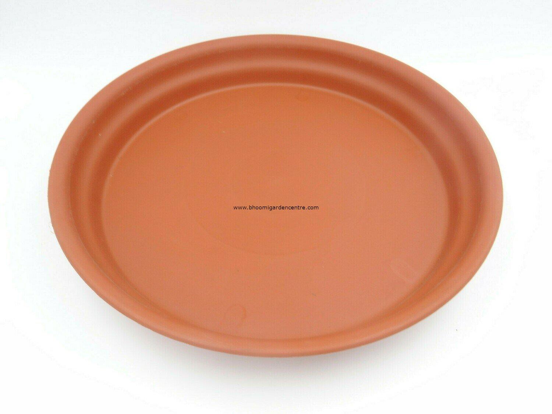 Regular Terracotta plastic plate  ( 18 inch )