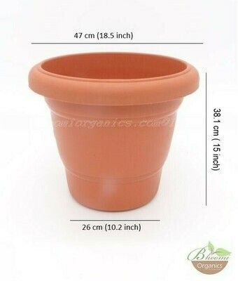 Regular terracotta  pot (18 inch)