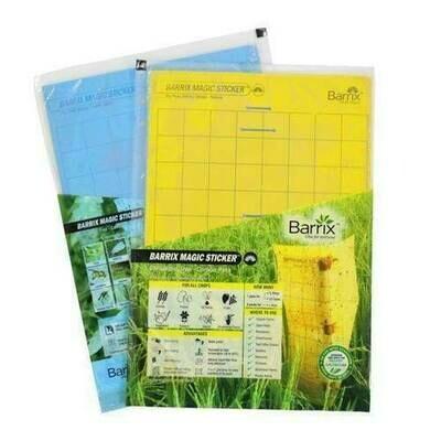 Barrix magic sticker yellow big