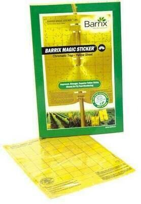 Barrix magic sticker yellow mini