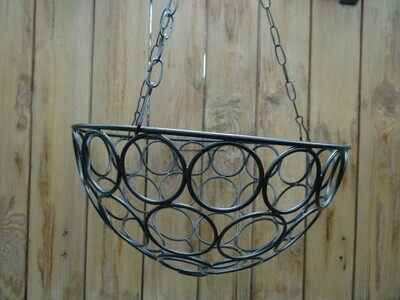 Metal hanging Rings 10 inch