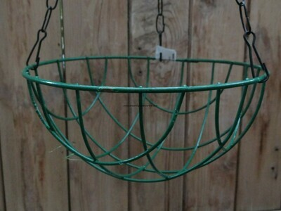 Metal hanging regular 10 inch