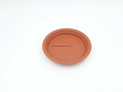 Regular Terraccota plastic plate ( 4 inch )