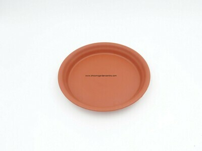 Regular Terracotta plastic plate ( 8 inch )