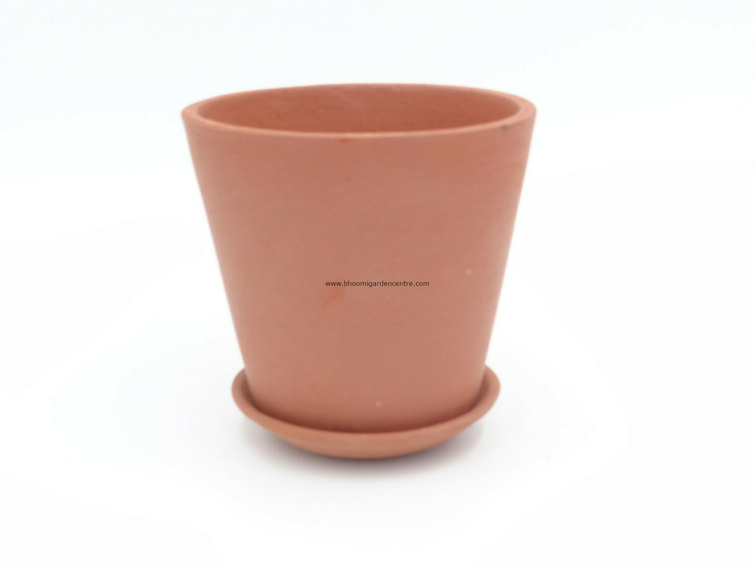 Terracotta regular with plate (4 inch)