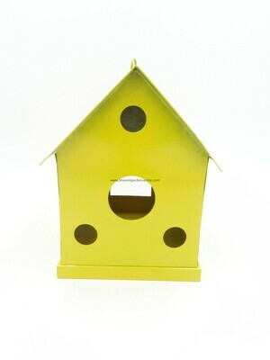 Metal Hanging Bird House