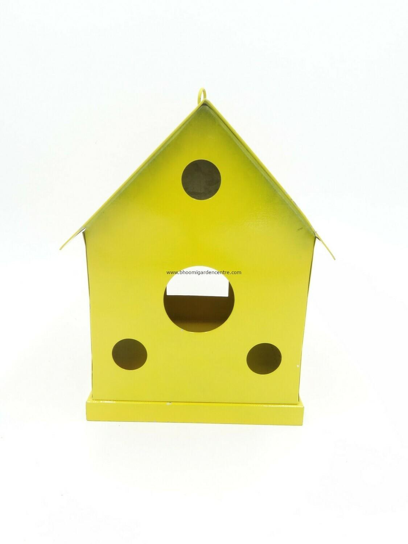 Metal Hanging Bird House