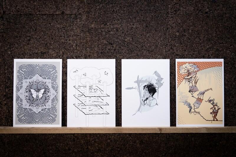 Consigue ya tu pack de 4 serigrafías de artistas del barrio- edición limitada