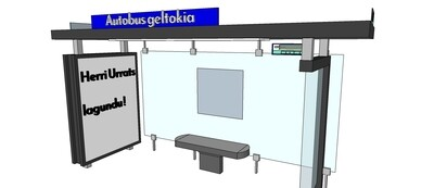 AUTOBUS GELTOKIA - Arrêt de bus
