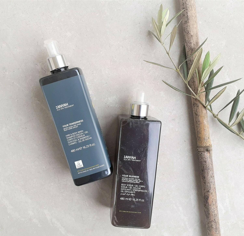 Eco Body Wash & Exfoliating Body Scrub