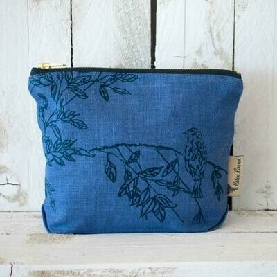 Linen Toiletry Bag