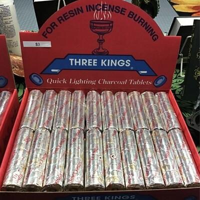 Three Kings Charcoal 10 pk