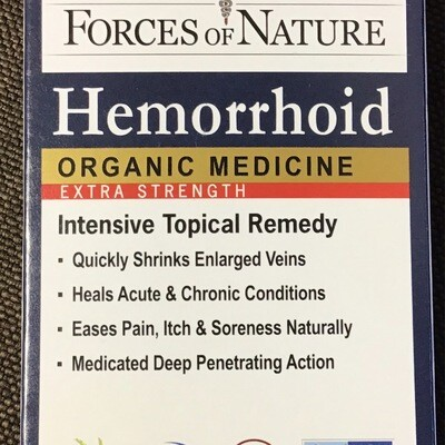 Hemmorrhoid Control by Forces of Nature