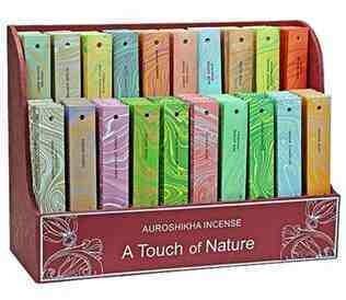 10 Gram Pack Auroshikha Incense Sticks
