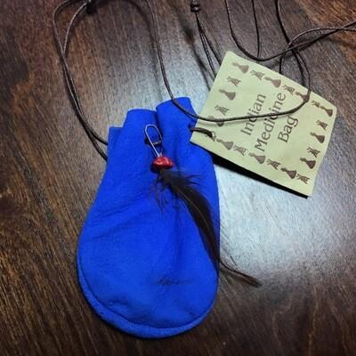 Medicine Bag Blue