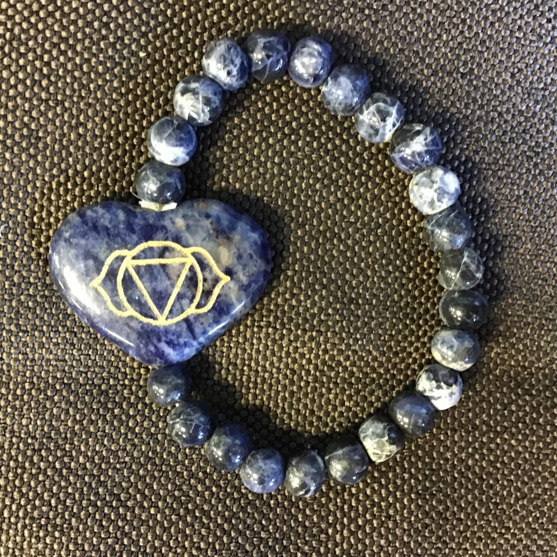 Third Eye Charkra Stone Bracelet