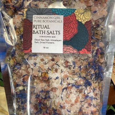 Ritual Bath Salts 1 lb bags