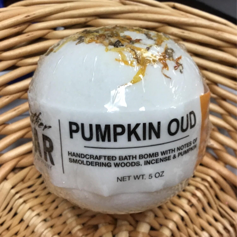Pumkin Oud Bath Bomb