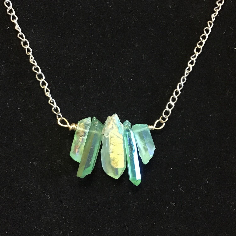 Opalized Quartz Necklace