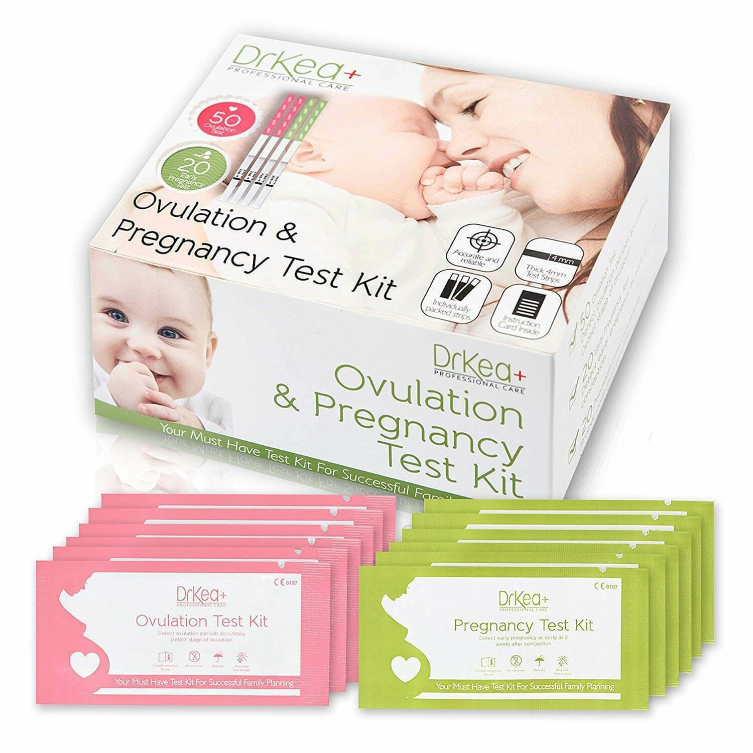 Ovulation & Pregnancy Test Kit
