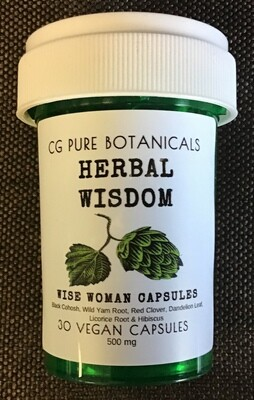 WISE WOMAN CAPSULES - MENOPAUSE SUPPORT