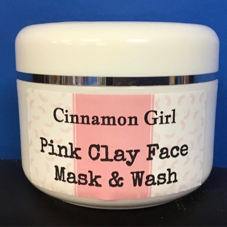 Pink Kaolin Chaga, Reishi & Rose Face Mask/Wash