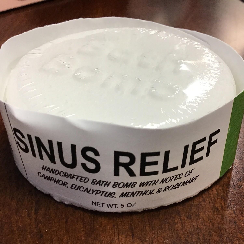 Sinus Relief Bath Bomb