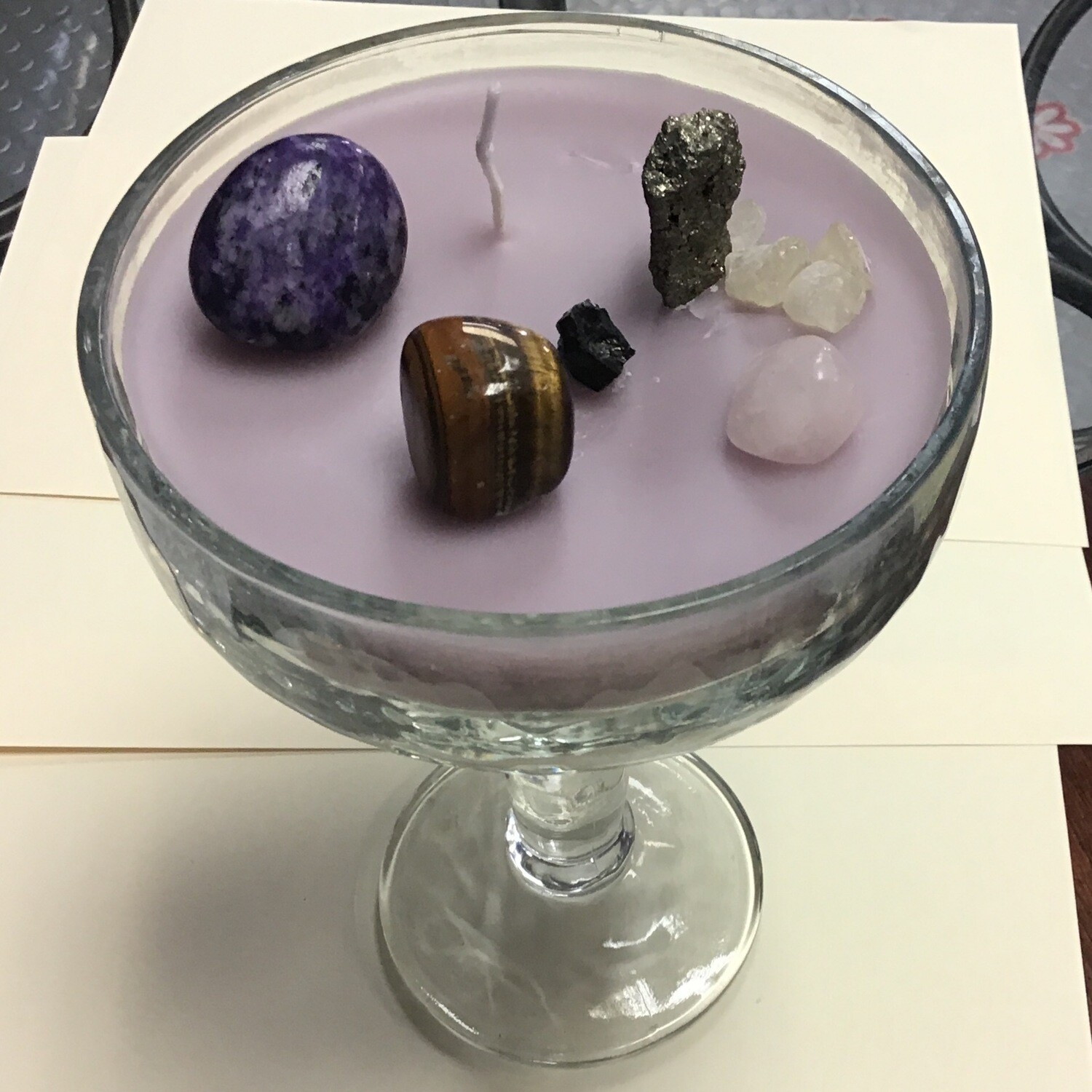 Margarita Glass Spell Candle