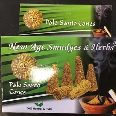 Palo Santo Cone Kit W Burner 12 Cones