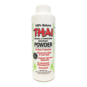 Thai Crystal & Cornstarch Deodorant Powder