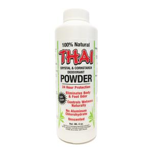 Thai Crystal & Cornstarch Deodorant Powder