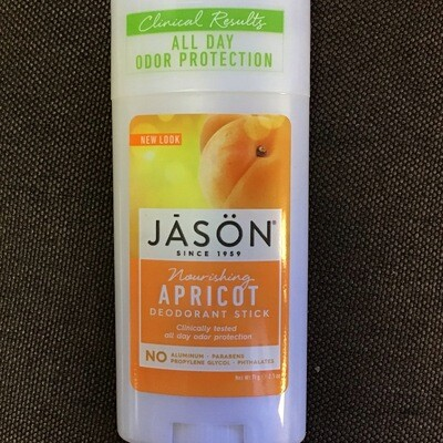 Jason Apricot Deodorant Stick