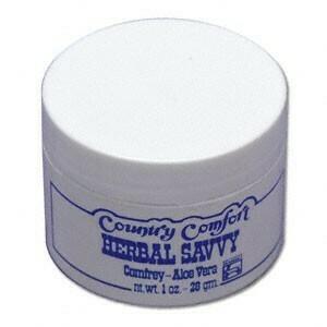 Country Comfort Comfrey & Aloe Savvy 1 0z
