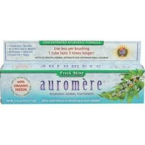 Auromere Fresh Mint Toothpaste 4.16oz