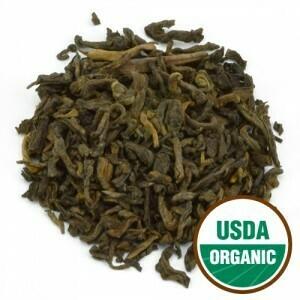 Pu' erh  Yellow Organic Tea Priced pr oz