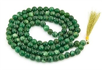 Green Aventurine Prayer Mala - 8mm