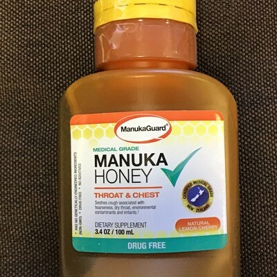 Manuka Honey Cough Syrup