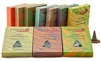 Auroshikha Cone Incense - 14 Cones Pack