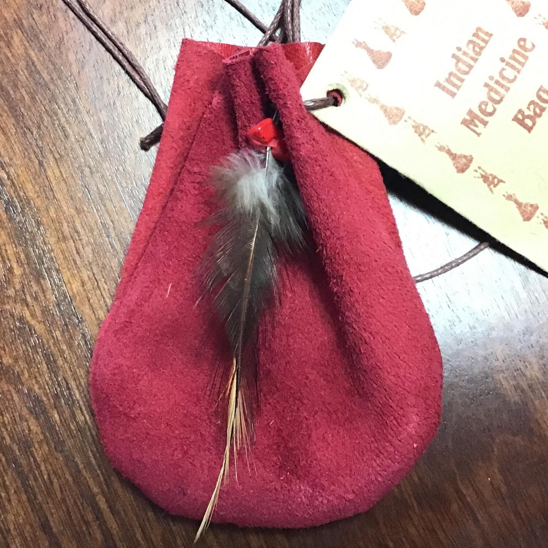 Medicine Bag Red