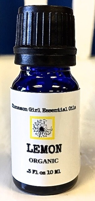 Organic Lemon Essential Oil 10 Ml